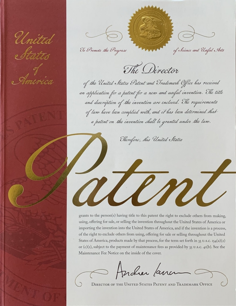 Types of patents: utility patents, design patents, and plant patents